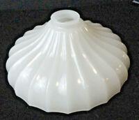 Vintage Antique Milk White Glass Gas Lantern Lamp/ Light Globe/Shade Replacement