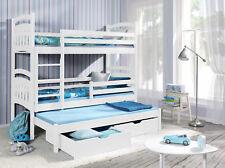 Etagenbett Kinder 3 : Etagenbett mit leiter erle echtholz hochbett für kinder u ac