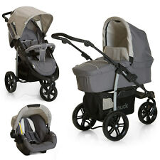 Hauck Kinderwagen-Set Viper SLX Trio 3 in 1 inkl. Babyschale - Smoke Grey - NEU
