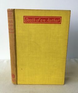 John Rhode - Death of an Author - UK 1st HB 1947 - Crime - Geoffrey Bles
