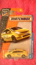 Matchbox (US Card) - 2017 - #15 Toyota Prius Taxi - Yellow