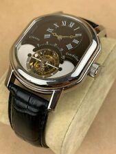Classic Tourbillon Gentelman Wrist Watch By Minorva Shanghai - Gorgeous !