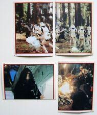 STAR WARS Return Of The Jedi 1983 UK Panini Stickers 4 Different