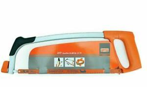 "Bahco 300mm 12"" Heavy Duty Metal Hacksaw Frame With 24TPI Sandflex Blade 317"