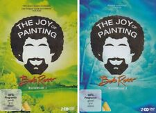 4 DVDs * BOB ROSS - THE JOY OF PAINTING - KOLLEKTION 1 + 2  # NEU OVP WVG