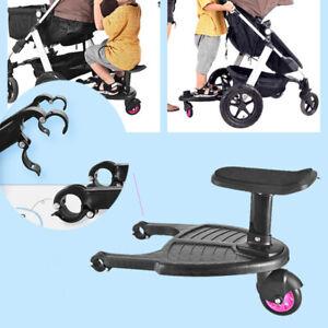 Universale Pedana Kiddy Board Passeggino Con Sedile Per Passeggini Step Roller