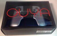 OUYA Wireless Controller NEW Silver Black CIB BLUETOOTH + Batteries OGC1