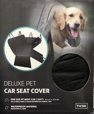 New listing Deluxe Quilted and Padded Seat Cover for Pets