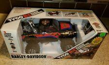 Tyco 1993 Radio Control Harley Davidson Pickup And Diecast Motorcycle