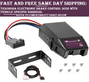 9030 Tekonsha Brake control with Wiring Harness 3025 FOR 1992-2002 GM