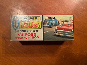 Aurora O Gauge 31 Ford Pick Up Nos