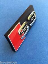 LOGO S3 POUR CALANDRE GRILLE AUDI A3 RS3 QUATTRO ORIGINAL CONSTRUCTEUR V6 3.2