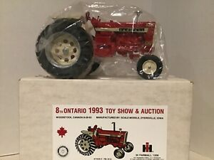 RARE! McCormick Farmall 1206 Diesel Turbo Tractor 1993 Ontario Toy Show 1/16