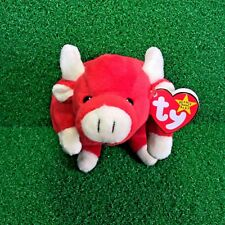 TY Beanie Baby RARE 1995 Snort The Bull Original 9 Edition W/ PVC 5th Gen - MWMT