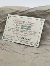 Genuine Rolex vintage cronometro certificato CARD VUOTA 62 INGLESE RARO PERFETTO