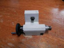 Emco Unimat 3 Mini Mill Lathe Tail Stock