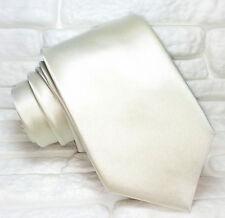Cravatta 7,5 cm  grigio TOP qualità NUOVA, marchio TRE 100% seta Made in Italy