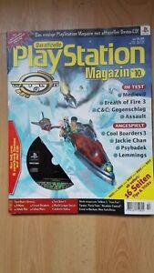 Das offizielle Playstation Magazin Nummer 10/1998 Neu ungelesen mit Demo CD Sony