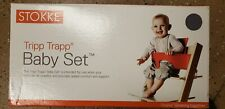 Stokke Tripp Trapp Chair Baby Set Recyclable And Safe Gray - Opened Box