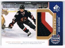 2014-15 SP Game-Used Stadium Series Materials Patche#SS-SA Brandon Saad 08/99