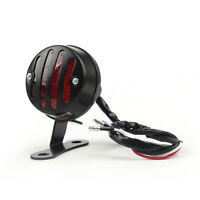 Moto LED Feux Arrière Taillight Brake Stop Light Pour Cafe Racer Noir AF