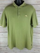 Tommy Bahama Signature Polo Shirt Men's Large Fishing Supima Cotton