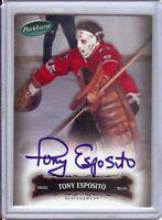 Tony Esposito 2006-07 Parkhurst Autograph Auto Signature Chicago Blackhawks #57