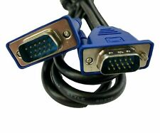 New listing Vga Male to Male 15pin Cord Connects Monitor to Computer Video 6ft Cable