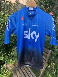 Team Sky Castelli Squadra training jersey - large