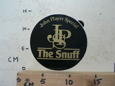 STICKER,DECAL JPS JOHN PLAYER SPECIAL THE SNUFF VINTAGE LARGE STICKER