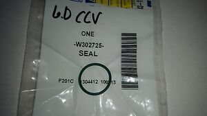 6.0 Powerstroke Diesel CCV ( CRANK CASE VENTILATION) SEAL FORD PN W302725