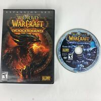 World of Warcraft: Wrath Of The Lich King Disc & Cataclysm Expansion Windows/Mac