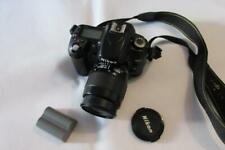 Nikon D80 10.2MP Digital-SLR DSLR Camera with NIKKOR AF 35-80mm Lens - WORKING!