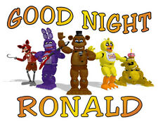 5 NIGHTS at  FREDDY'S Personalized Pillowcase Any Name Sweet Dreams Great Gift