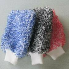 Glove Microfibre Mitt Cleaning Mitten Car Polish Washing Microfiber Cleaner Dust