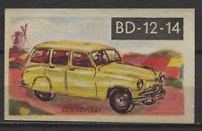 Standard Estate Car 1954 Vintage 1950s Dutch Trading Card No. 129