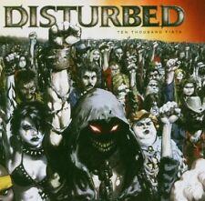 DISTURBED TEN THOUSAND FISTS CD NEW