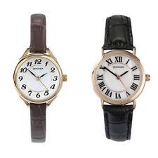 Relojes de pulsera Quartz de cuero para mujer