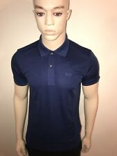 "NEW HUGO BOSS MENS BLACK LABEL POLO TSHIRT NAVY M 38""CHEST £39.99"