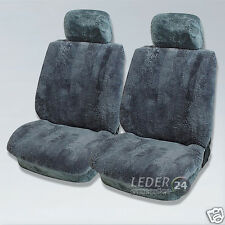 LAMMFELL Sitzbezüge Anthrazit  Mercedes  E-Klasse W 210, W211, W212