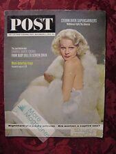 Saturday Evening POST November 2 1963 Nov 11/2/63 CARROLL BAKER LSD A.J. Foyt