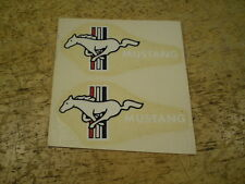 NOS Mustang Bicycle Decal Set of Two