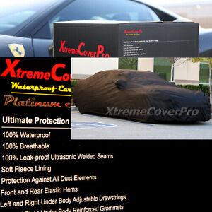 2010 2011 2012 JAGUAR XJ XJL WATERPROOF CAR COVER W/MIRROR POCKET -BLACK