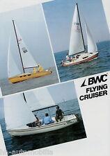 Prospekt BWC Flying Cruiser Segelboot Segeljolle 2005 Broschüre brochure sailboa