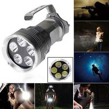 9000Lm 5X CREE XM-L T6 LED 18650 Flashlight Handheld Torch Camping Lamp Light MT