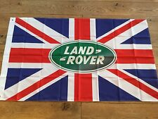 Land rover defender freelander discovery Range Rover workshop flag banner