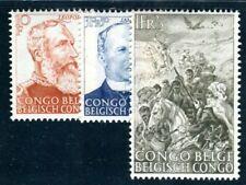 BELGISCH KONGO 1947 260-262 ** POSTFRISCH TADELLOS SATZ SKALVENBERFEIUNG (I2731