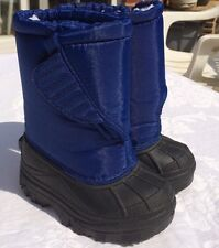 Kid Connection NEW Sz 5 blue Toddler Boots Insulated EUC