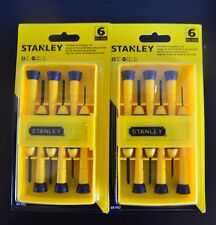 (2-PACK) Stanley Precision Screwdriver Set 6 pcs.