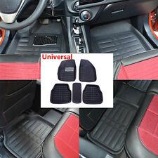 5pc Car Floor Mats FloorLiner Front Rear Carpet Black All Weather Mat Universal